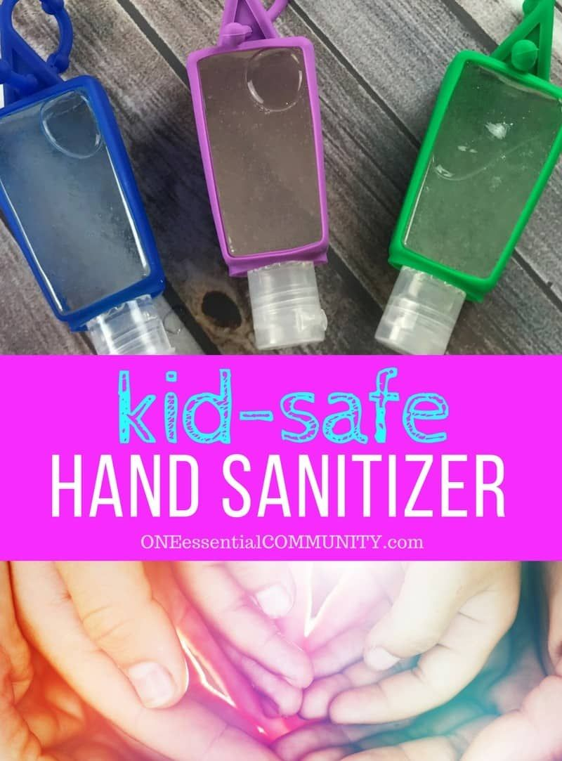 Diy Hand Sanitizer Gel Are Essential Oils Safe Natural Hand