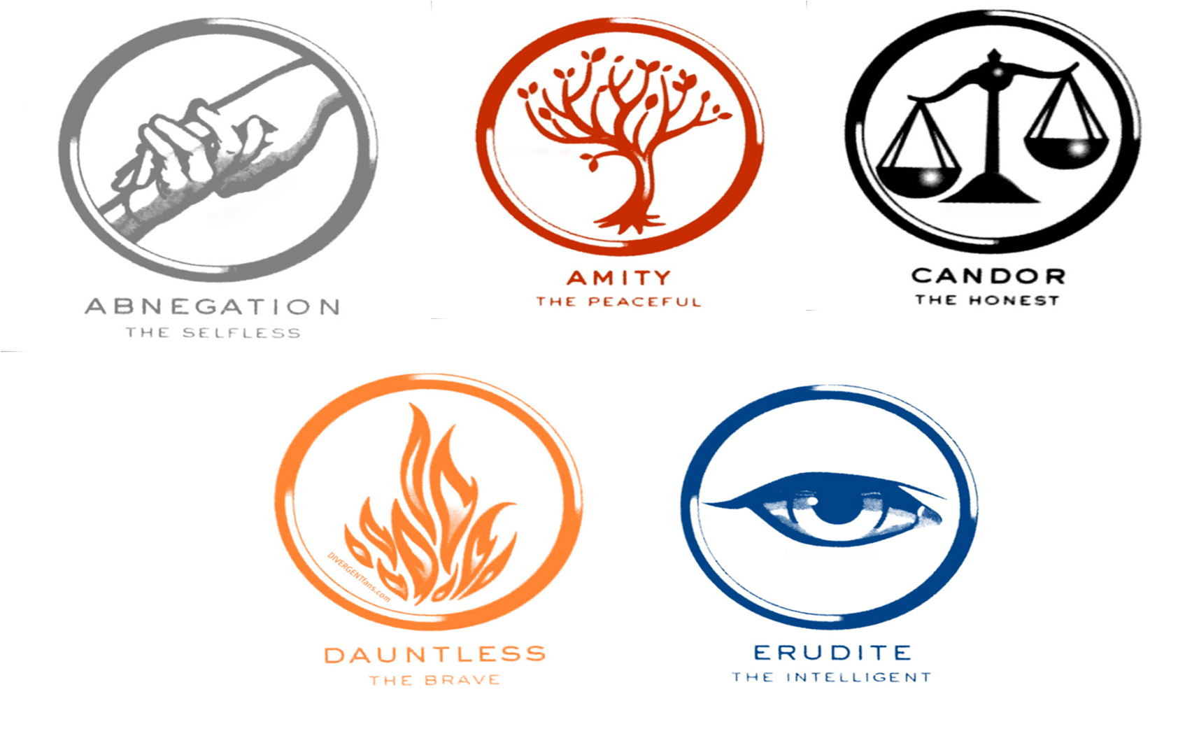 All 5 symbols from divergent divergent faction symbols art work all 5 symbols from divergent divergent faction symbols buycottarizona Gallery