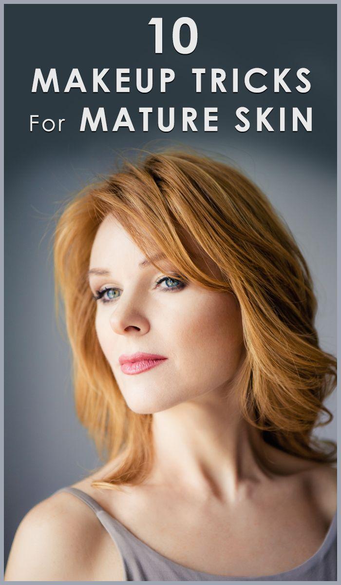 Makeup Tips For Older Women  Makeup tips for older women, Anti