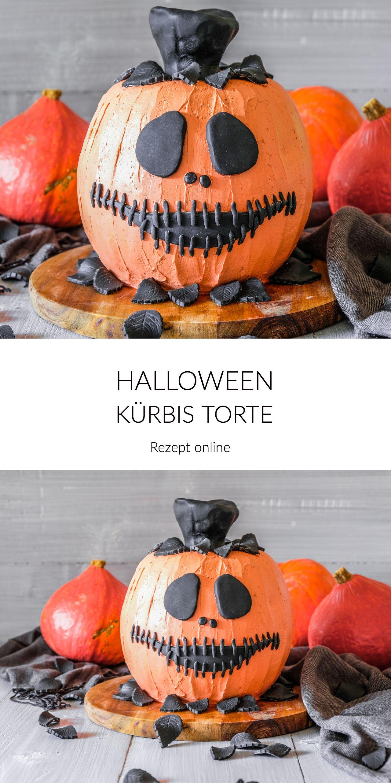 Halloween Kürbis Torte Halloween kürbis, Halloween