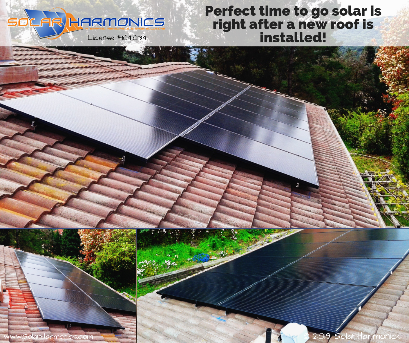 Perfect Time To Go Solar Is Right After A New Roof Is Installed Solaredge Technologies Inc Axitec Solar Usa E Solar Installation Solar Installation
