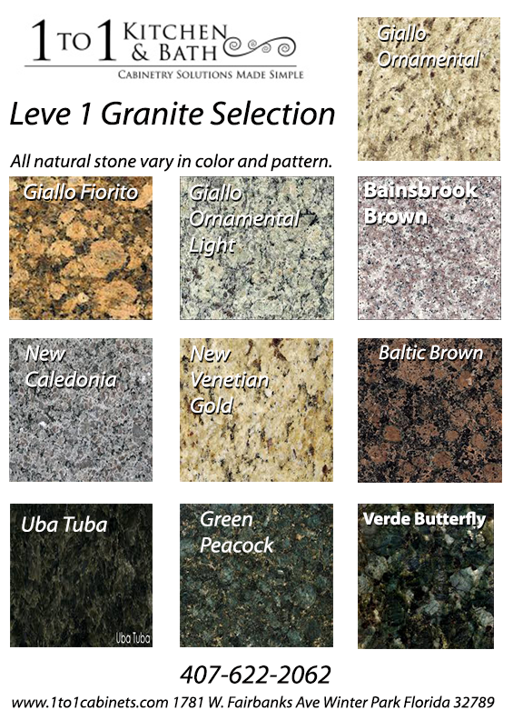 Level 1 Granite Colors Offered At The Best Prices Www Cabinets All Our Counter Tops Are Ready For Your New Kitchen Or Bath