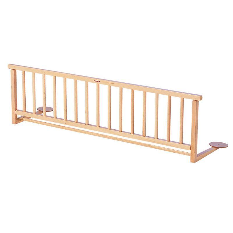 barriere de lit en bois couleur hetre