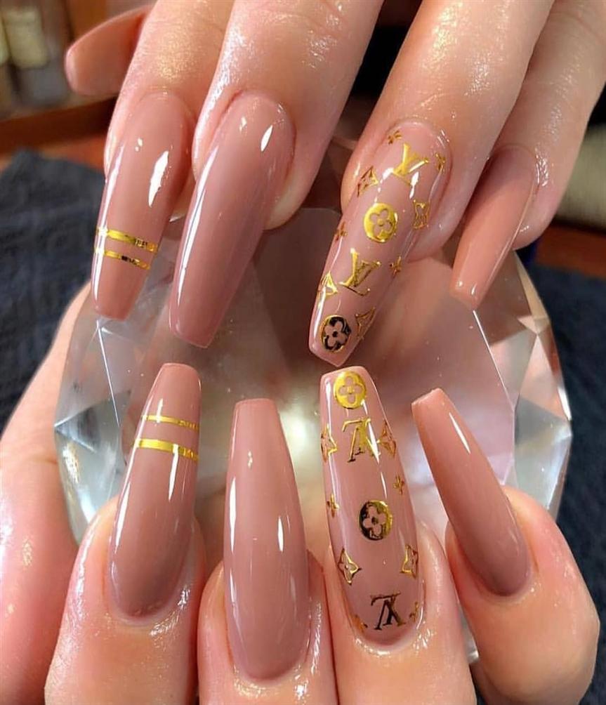LOUIS VUITTON #nails #nail #l
