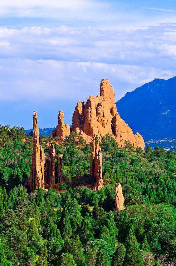 Garden of the Gods - Colorado Springs, Colorado | A World of Beauty ...