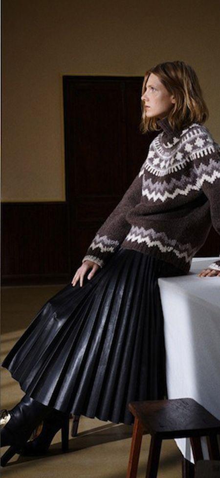 The Darker Horse: Feeling Fairisle | Stranded knitting, Jacquard ...