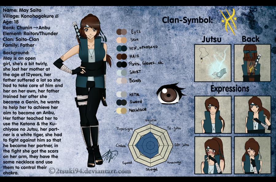 Naruto Characters Profile Oc