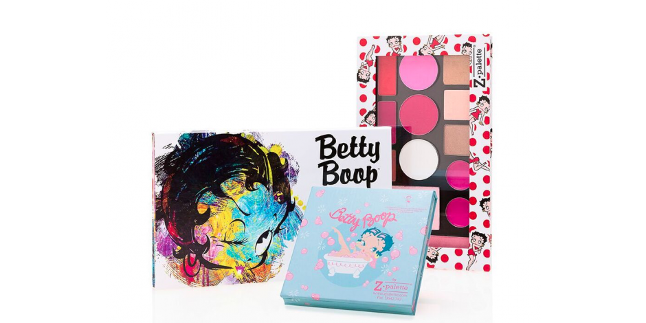 Image result for licensing beauty Z palette, Betty boop