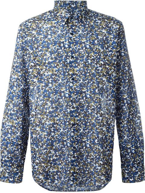 ea701f71 FENDI Granite Print Shirt. #fendi #cloth #shirt Casual Shirts For Men,