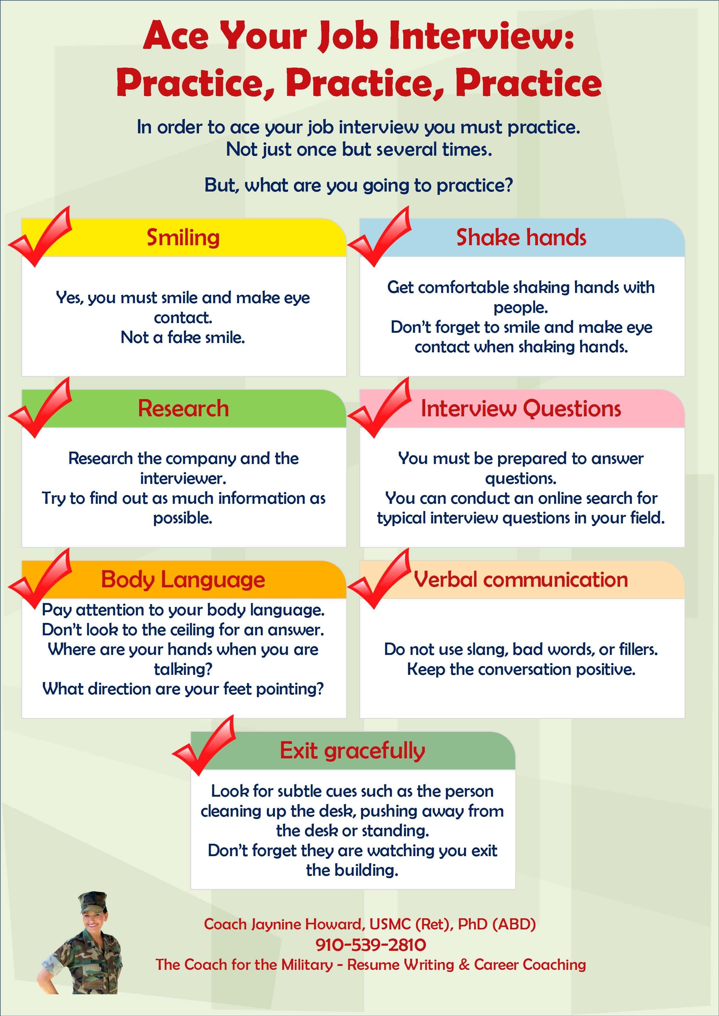 Practice  Practice  Practice To Ace Your Job Interview