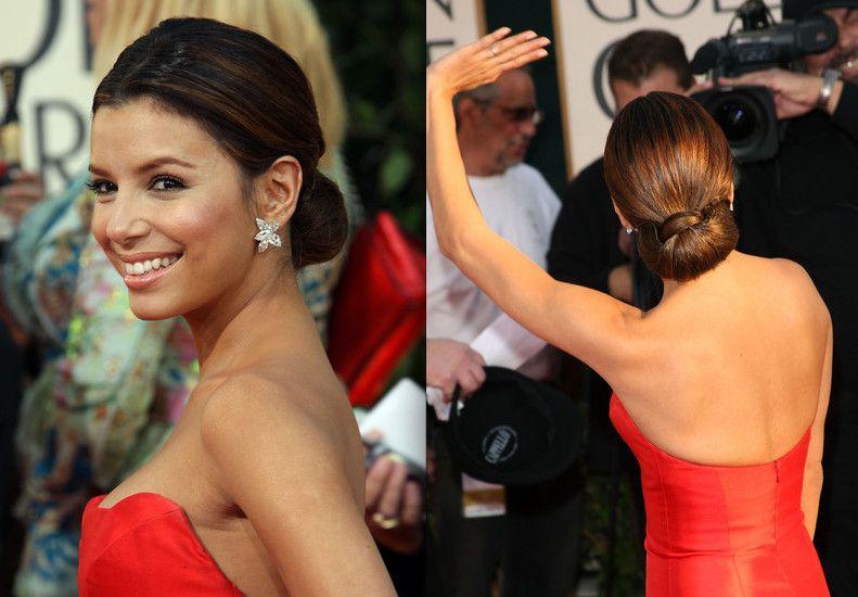 Pleasing Low Chignon Bun Wedding Bun Hairstyles And Celebrity Hairstyles Hairstyles For Men Maxibearus