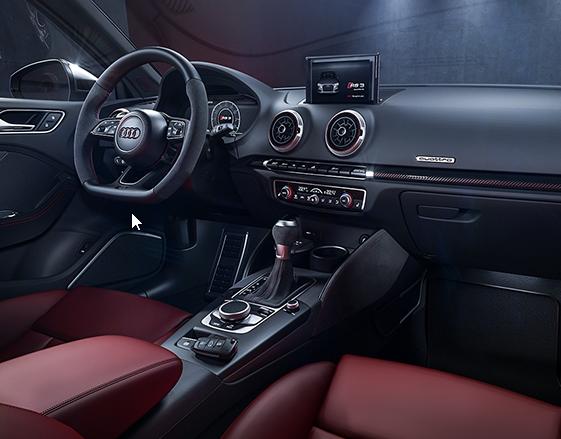 Photo of Audi RS3 Sedan Interior