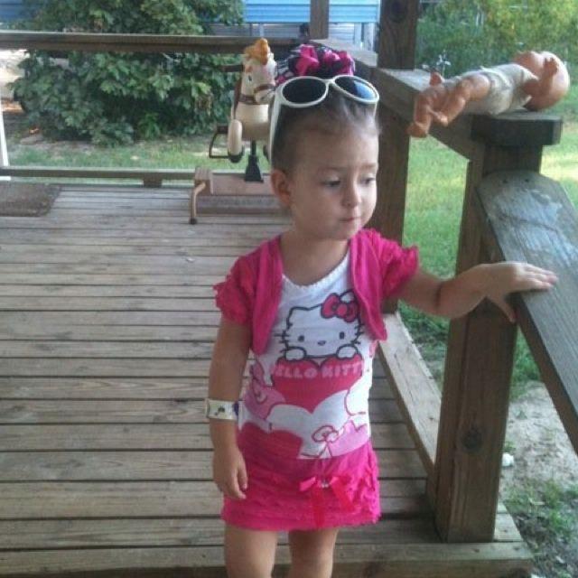 My Alice in Pink & Zebra Bow