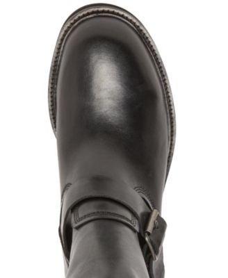 361dde699a58ba Self Made by Steve Madden Men's Madman Leather Boots - Gray 7 ...