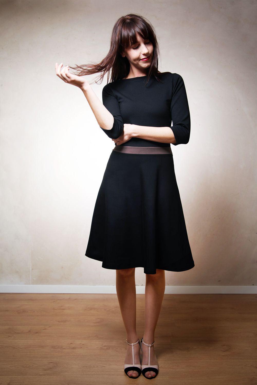 Photo of Nähen Sie DIY Scarlet Kleid selbst .. Schnittmuster eBook & Nähanleitung