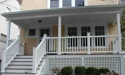 Porch Skirting Yahoo Search Results Front Porch Design Porch