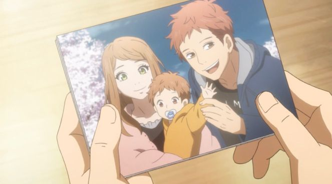 Suwa And Naho Family Photo Anime Familia Orange Anime Animes Shoujos