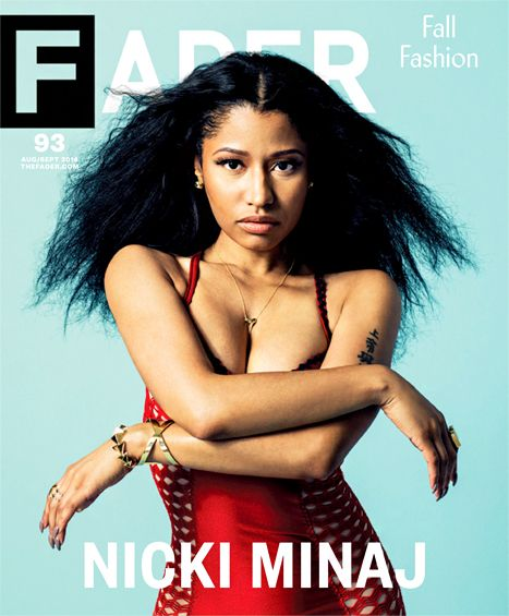 "Nicki Minaj spoke to The Fader about her reported brush with death, telling the mag that showbiz ""kills so many people"""