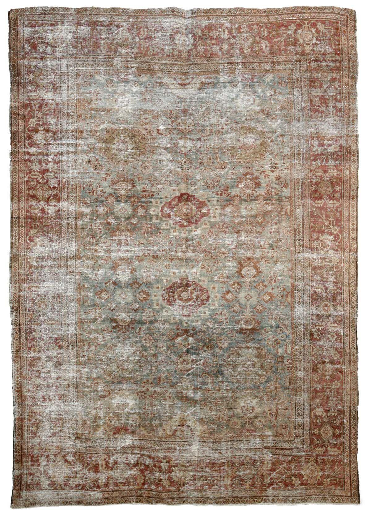 Mahal Antique Persian Rug