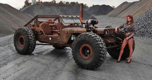how to build a jeep rat rod frame