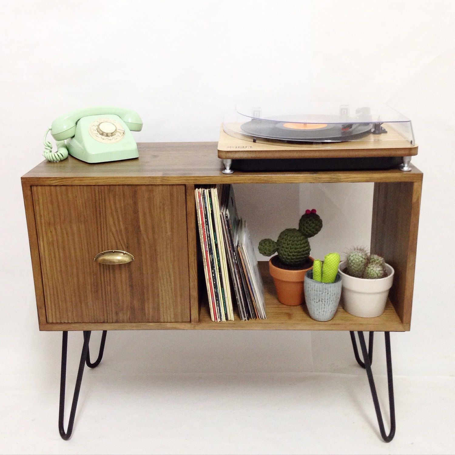 Our Handmade Vinyl Console Table Is Available Made To Measure, Message Us  For Details.