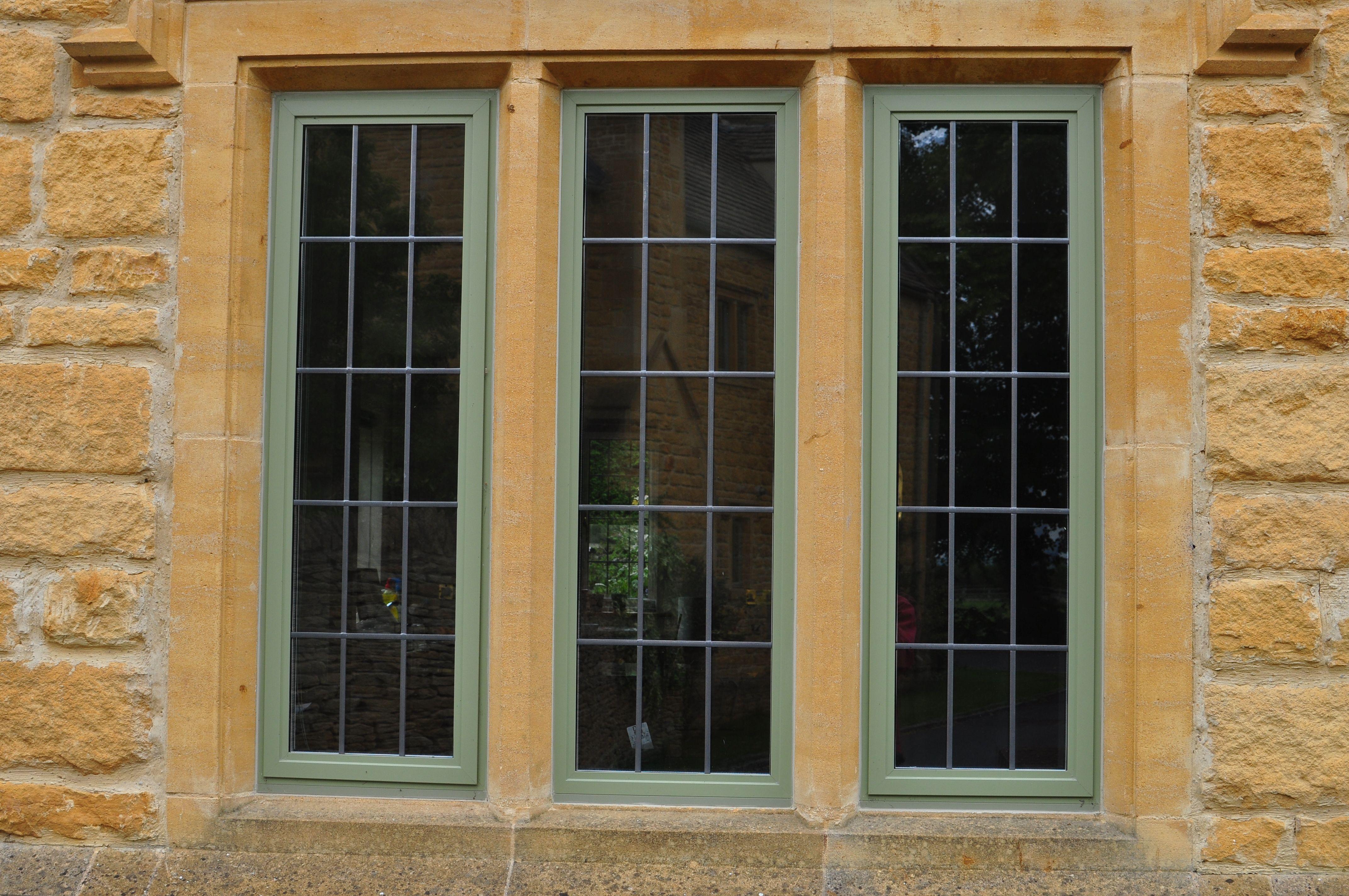 Aluminium Heritage Windows Replace Old Style Crittal Windows In Cotswold Stone Mullions Minimalist Window Window Design Windows