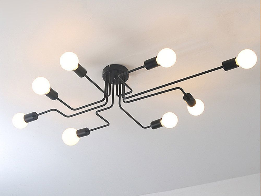 8 lights Industrial Ceiling Chandelier Spider Chandelier