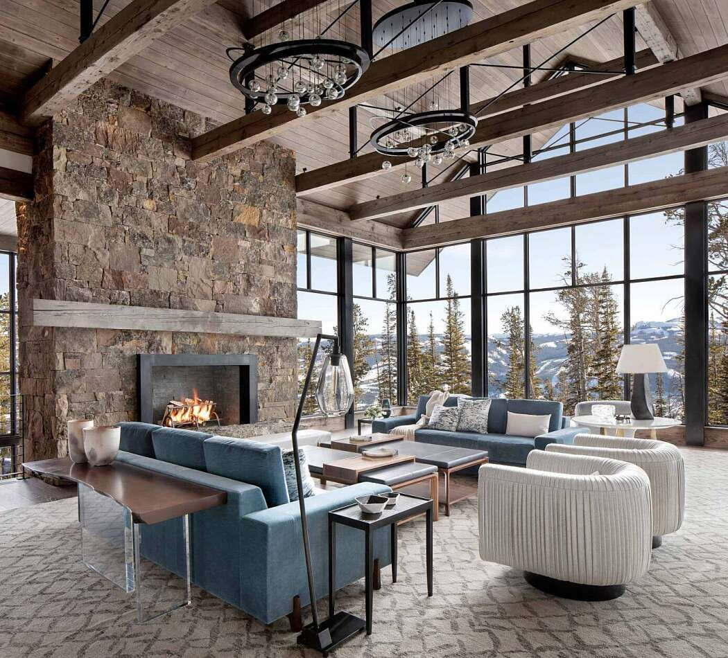 Modern Ski Home By Locati Architects Homeadore House Design Modern Mountain Home Home