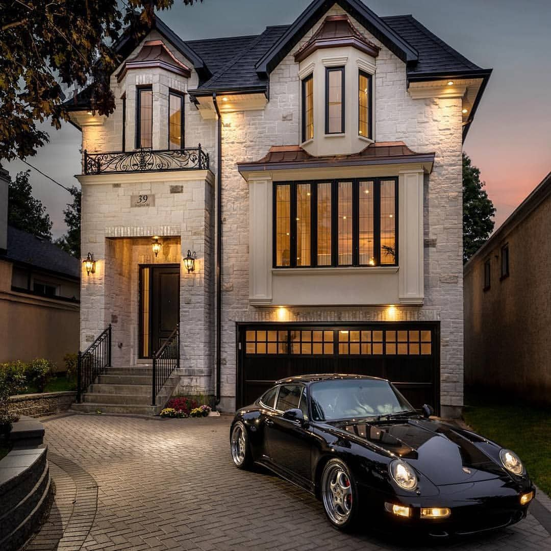 Custom Home Designs Toronto: Luxury House.... What Do You Think About This Design