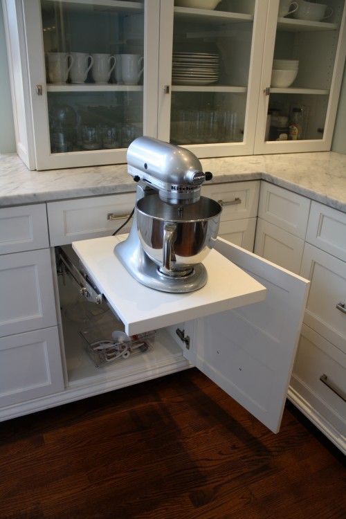 Kitchen Electrics Aid Bbq Mixer Lift If I Can T Have A Whole Concealed Cabinet Then At Least Need This