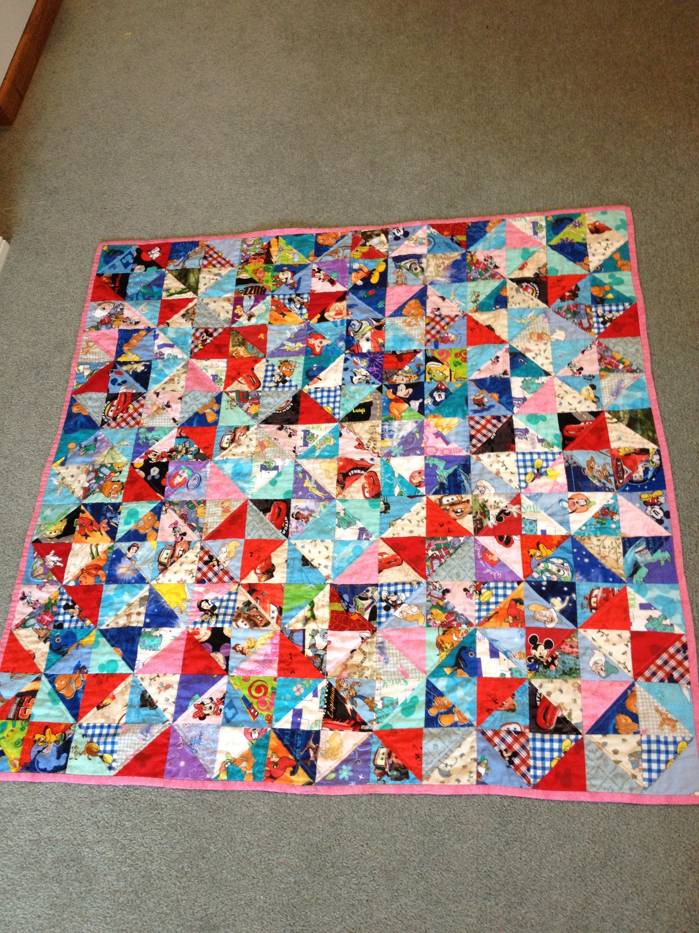 I-spy Disney quilt What a cute idea!! | Embroidery | Pinterest ... : disney quilts - Adamdwight.com