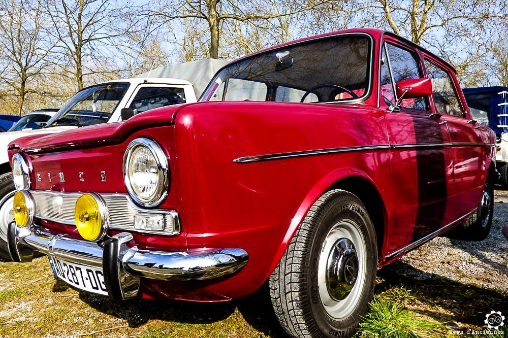 #Simca #1000 à la Bourse d'Ancenis. Reportage complet : http://newsdanciennes.com/2016/03/22/grand-format-a-bourse-dancenis/ #Voitures #Anciennes #Vintage #Car #ClassicCar