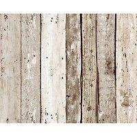 Wallpops Nuwallpaper Bauhaus Weathered Wood Peel And Stick Wallpapernull Peel And Stick Wallpaper Weathered Wood Geometric Wood Wallpaper
