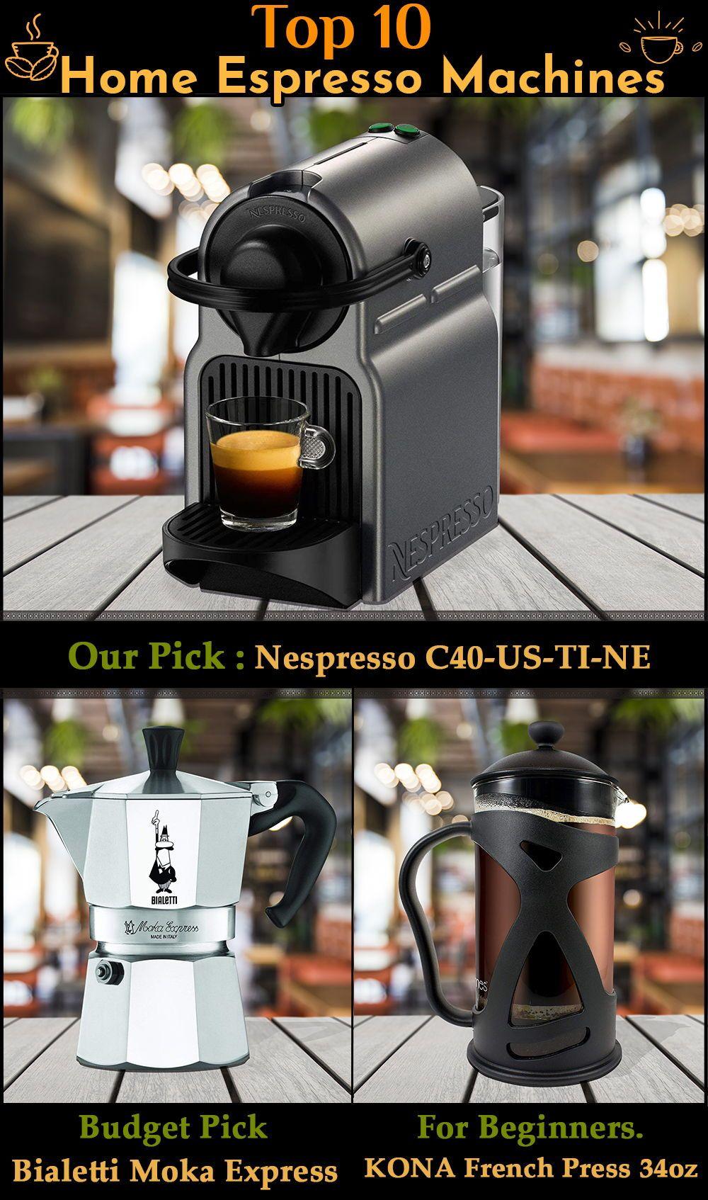 Top 10 Home Espresso Machines (Feb. 2020) Reviews