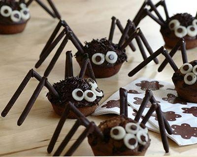 Image Araignée Halloween araignée tout chocolat   recipe   cupcakes and gateau   halloween