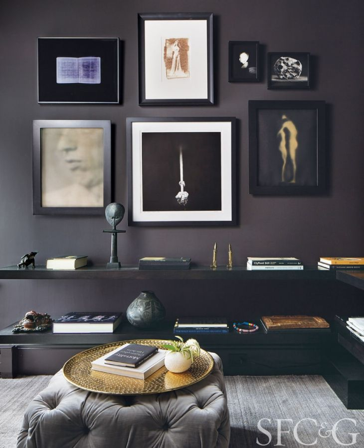 Lindsay Brier Of Anyon Interior Design Creates A Cultivated E For An Art Advisor In Pacific Heights