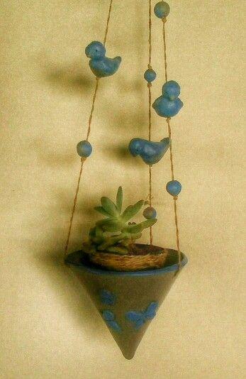 mtceramica.blogspot.com Pequenos vasos para suculentas