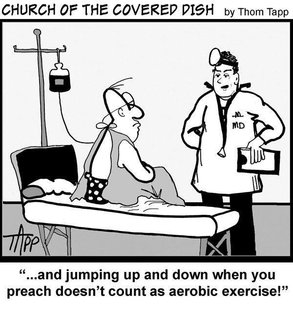 Pin by Randy Ghent on Cartoons   Church humor, Pastors