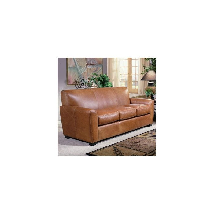 Omnia Leather Jackson Genuine Leather Sofa U0026 Reviews | Wayfair