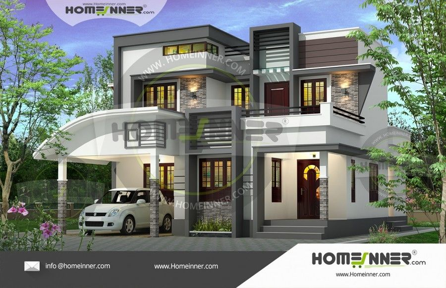 1652 Sq Ft 3bhk Beautiful Home Plan