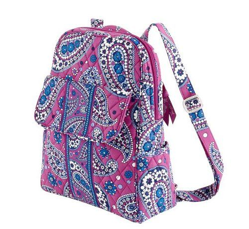 c6a1c2b39de7 Vera Bradley Large Backpack in Boysenberry -- Learn more by visiting the  image link.(This is an Amazon affiliate link and I receive a commission for  the ...