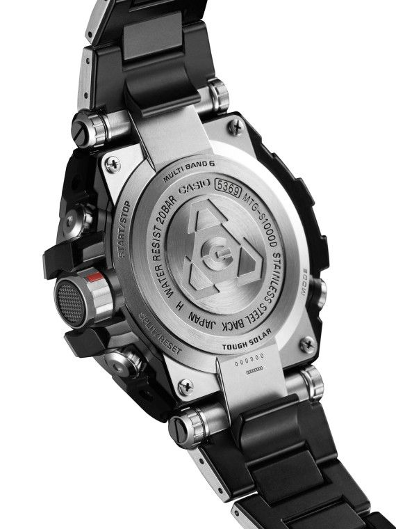 "732c8ce0100 Casio G-Shock MTG-S1000 Watch – ""MT-G Metal Twisted"" Collection ..."