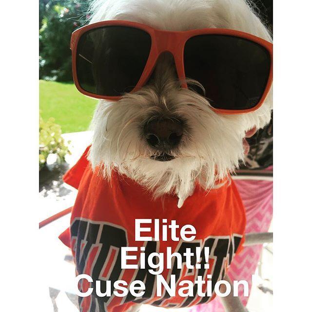 #yeahbaby #wearecusenation #elite8 #gocuse #cuseonfire #goorange