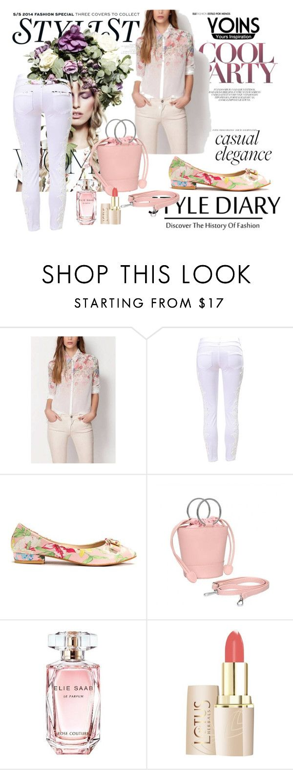 """""""Win this SHIRT or $20 voucher from yoins !"""" by lejlaaa1996 ❤ liked on Polyvore featuring KAROLINA, Elie Saab and yoins"""
