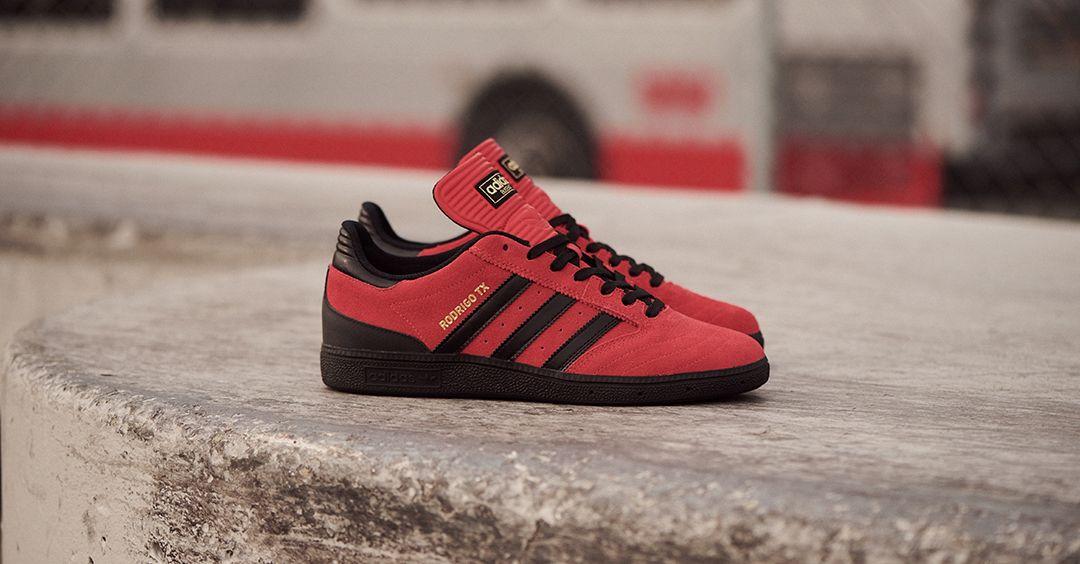 adidas Skateboarding Rodrigo x Busenitz Shoes (red)   Adidas