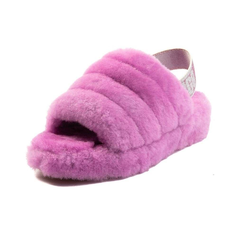 d32df32e126 Womens UGG® Fluff Yeah Slide Sandal - Pink - 581781 | Things I want ...