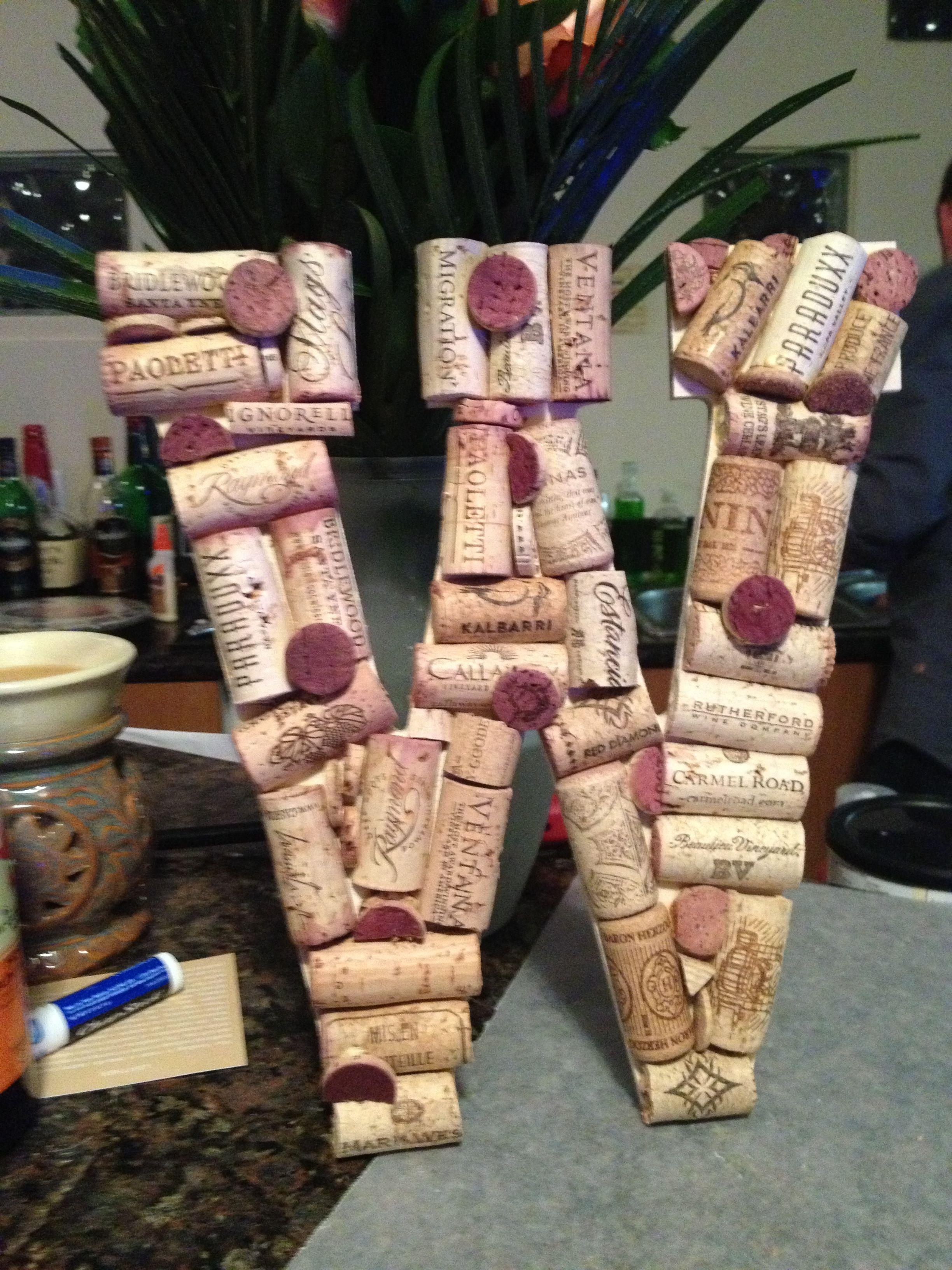 Cork board letter cork board fun lettering