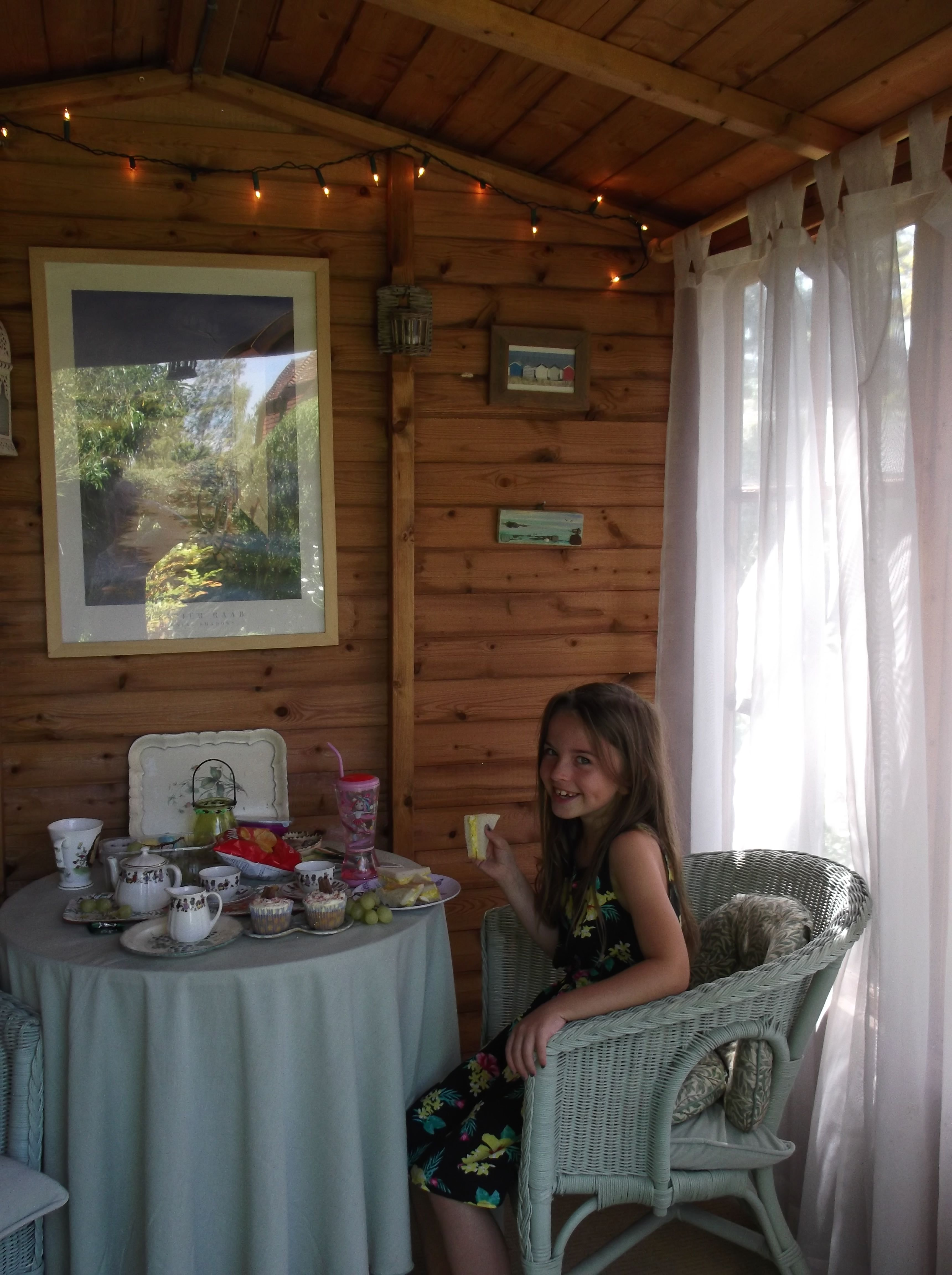 Tea Party with Lilly