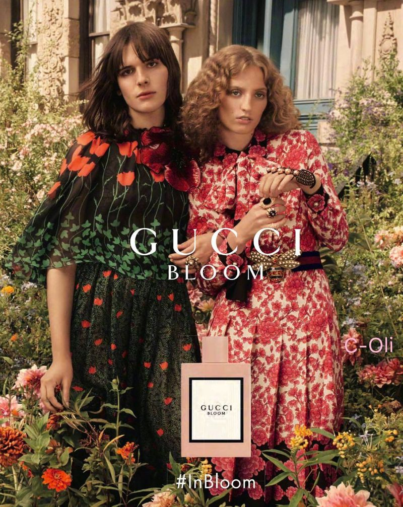 Gucci Bloom Fragrance 2017 Gucci Fashion Photography Editorial Fashion Photography Inspiration Gucci Fashion