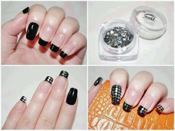 Black style | Nail Art Love | Pinterest | Black style
